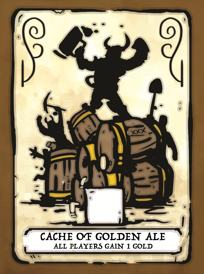 Cache of Golden Ale card
