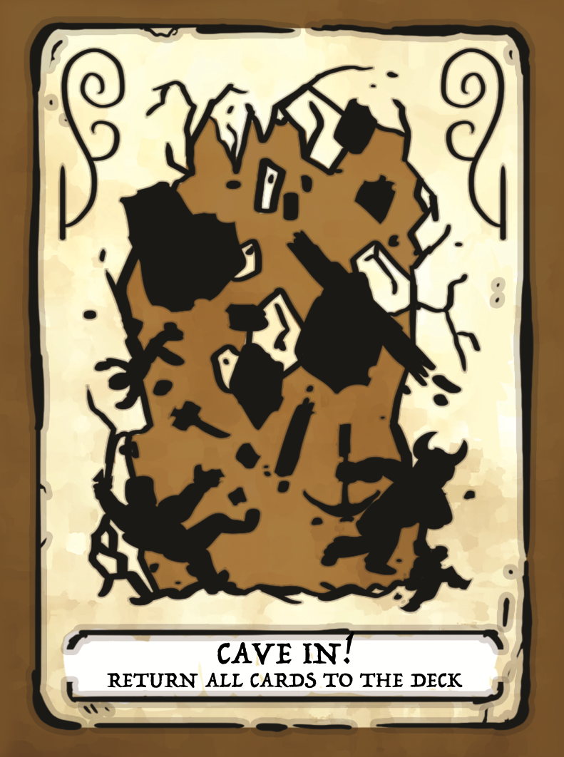 Cave In! Card