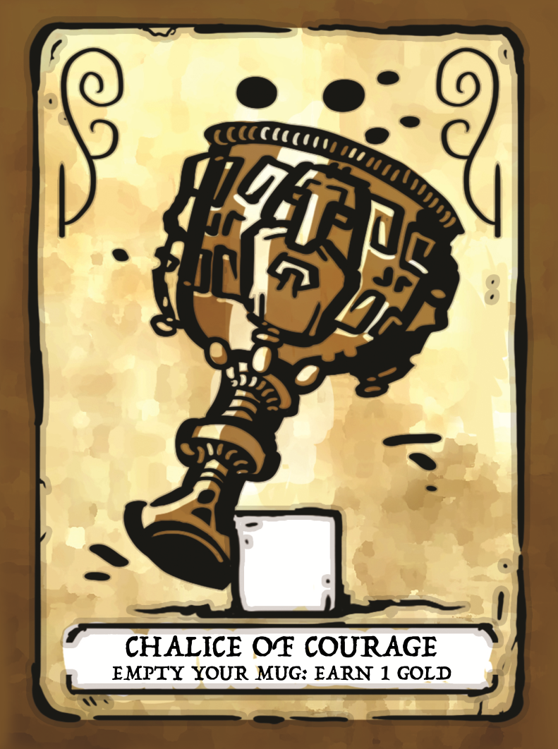 Chalice of Courage Card