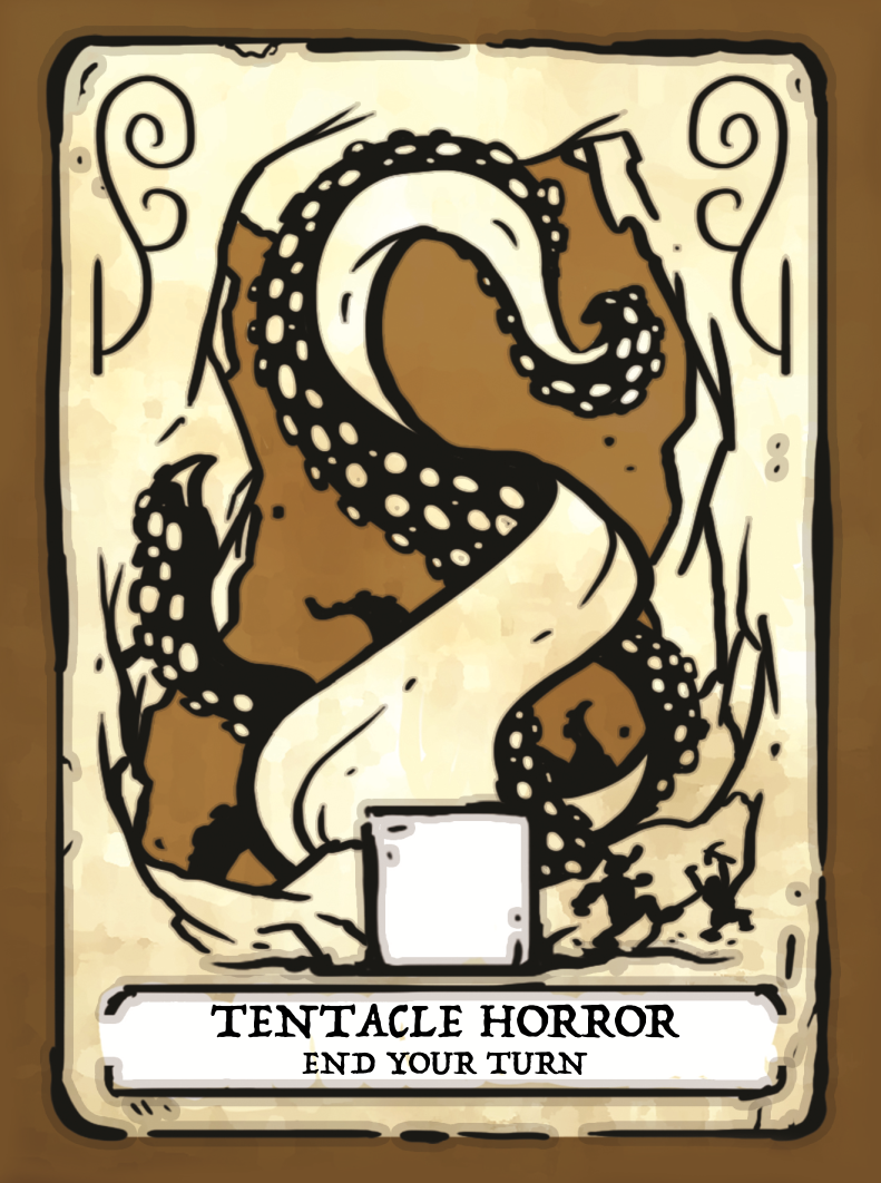Tentacle of Horror Card